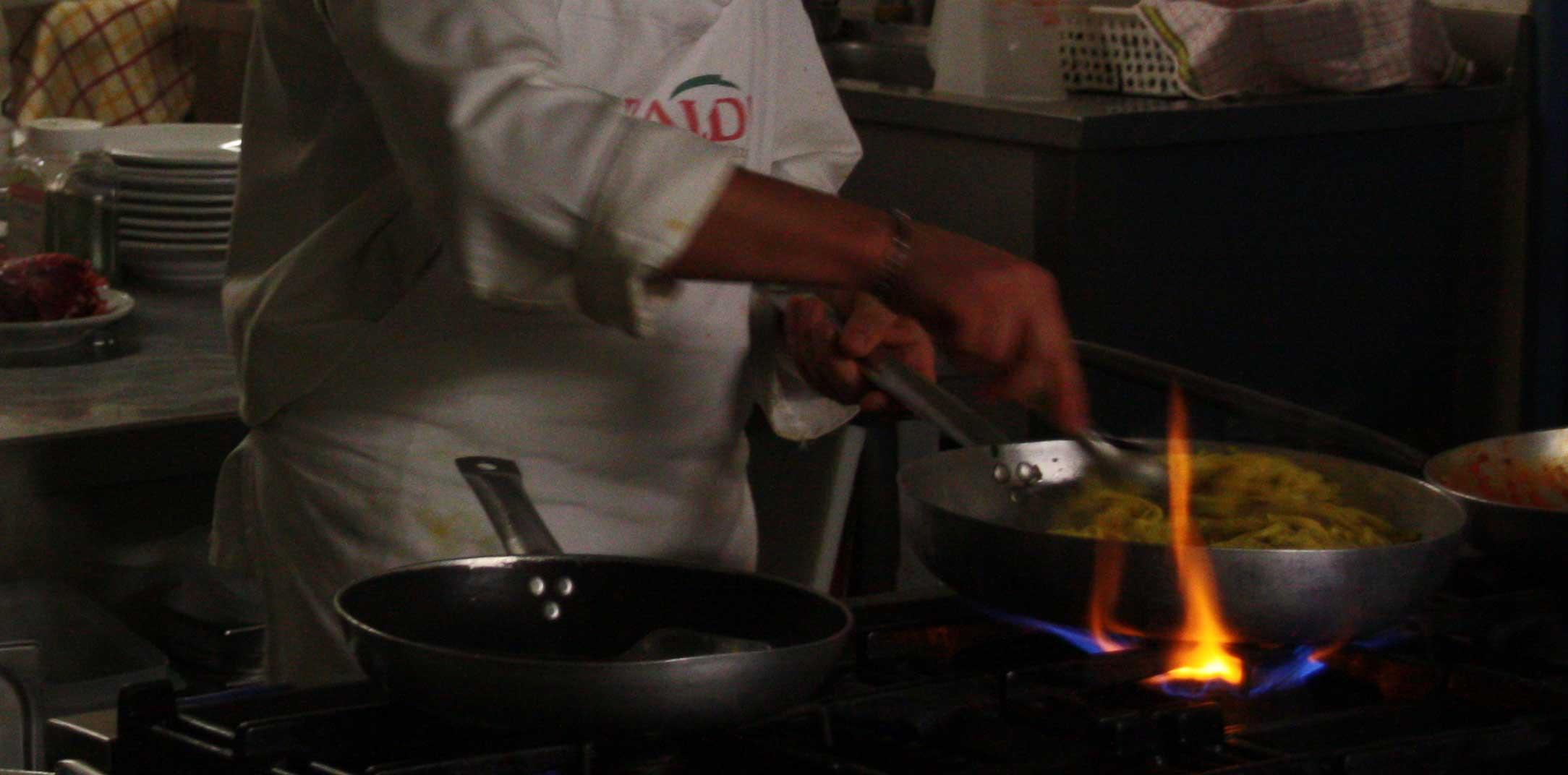 La cucina dal Navigante