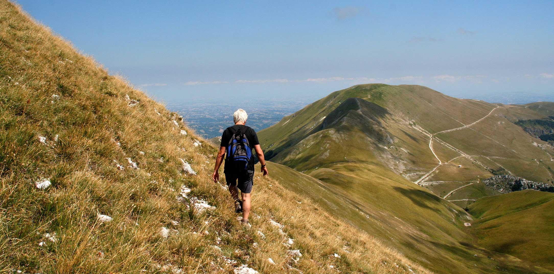 Una passeggiata nei monti Sibillini